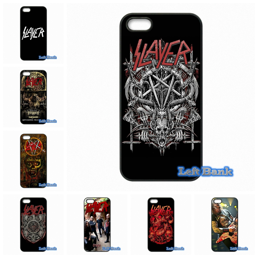 American Slayer Metal band Phone Cases Cover For Apple iPhone 4 4S 5 5C SE 6 6S 7 Plus 4.7 5.5 iPod Touch 4 5 6