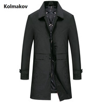 2019 spring Autumn coats Mens Casual fashion Jacket Men's Windbreaker Coat Male High quality Trench coat men M to 3XL