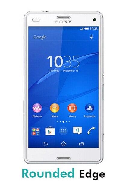 Skärmskydd härdat glas sFör Sony Xperia Z3 Compact Glass Film De - Reservdelar och tillbehör för mobiltelefoner - Foto 2