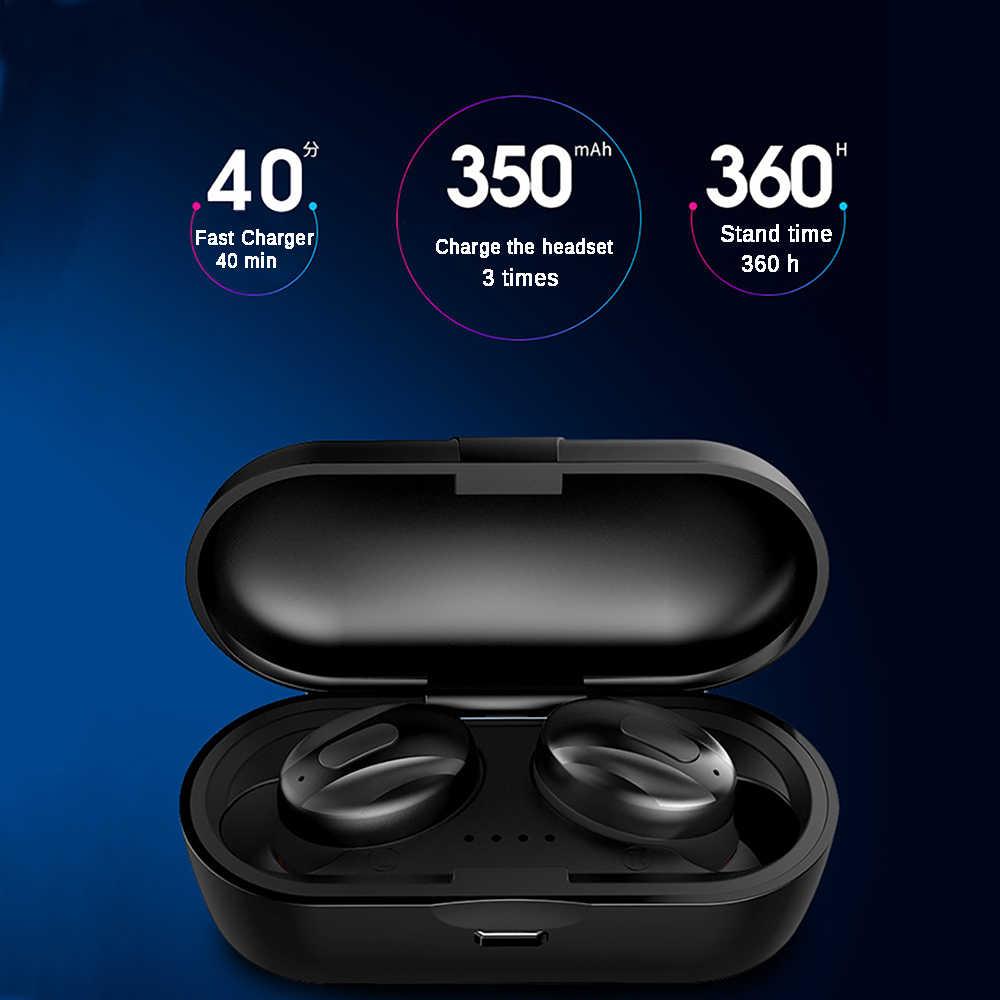 XG14 TWS Bluetooth 5.0 ワイヤレスイヤホンで耳ミニイヤフォンハイファイ 5D ステレオスポーツイヤホン IP5 防水ヘッドセット Headfree