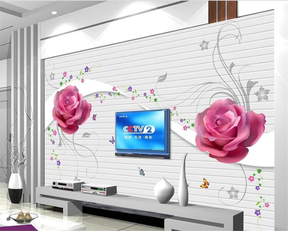 Online Buy Wholesale Big Red Rose Wallpaper From China Big Red