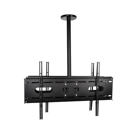 """Haute qualité 23 65 """"Double écran LCD LED TV montage au plafond 360 degrés Rotation Double LCD LED support de télévision-in Supports pour télévision from Electronique    2"""