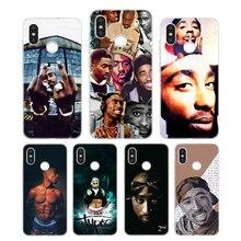 Silicone Phone Case 2Pac Tupac Amaru Shakur Printing for Xiaomi Mi 6 8 9 SE A1 5X A2 6X Mix 3 Play F1 Pro Lite Cover