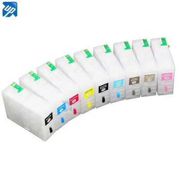 9pcs Refillable Ink Cartridges with permanent Chip Fo Epson surecolor p800 SC-P800 printer T8501