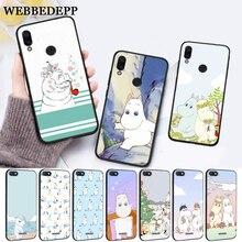 WEBBEDEPP Hippo Cute animal cartoon Protective Silicone Case for Xiaomi Redmi 4A 4X 5A 5 Plus S2 6 6A 7 7A K20 Pro Go