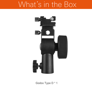 Image 2 - Godox Flash de cámara Speedlite soporte giratorio de luz con soporte Reflector de paraguas para cámara DSLR