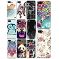 Cute Cat Kiss Fish Case Funda Cover For Apple iPhone 7 4 4s 5 5s SE 6 6S Soft Silicone TPU Slim Coque Cell Phone Bag Capa Cases