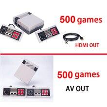 4 стиля HDMI/AV/PAL/NTSC Мини консоли видео ТВ Ручные игры игровую приставку к ТВ С 620/500 игр
