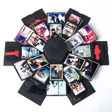 DIY Explosion Gift Box Storage Birthday Valentines Handmade Photo Album with Accessories Kit Boom