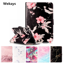 Wekays Tablet Case For Apple Ipad Mini 1 2 3 Cover Flip Leather PU Stand Kickstand Case Cartoon Windbell Funfas for ipad mini 3 new three folding tablet case for ipad mini 1 mini 2 ultra thin dormancy tablet holster pu leather cover for apple ipad mini 3