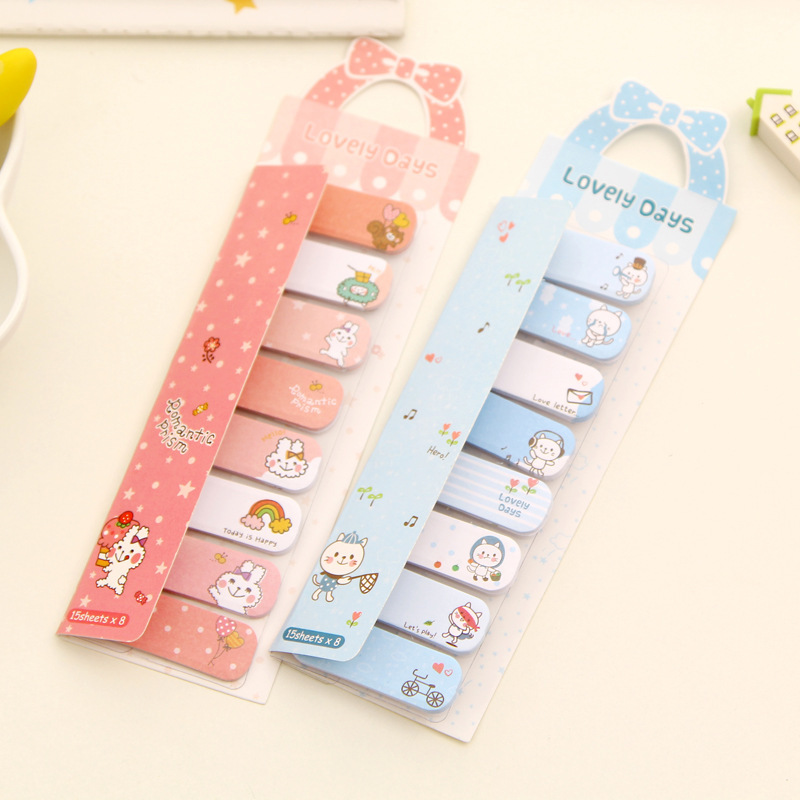 10PCS Notes To Do List Stickers Kawaii Sticky Notes Book Animal Memo Pad And Memo Pads Cute Post It Sticker Leuke Spulletjes kitmmm559unv55400 value kit post it easel pads self stick easel pads mmm559 and universal economy woodcase pencil unv55400