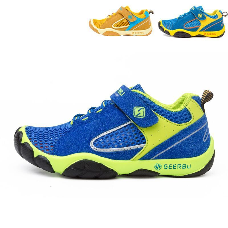 sapatos de couro respiravel sapatos casuais do esporte para criancas 03