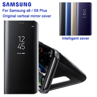 SAMSUNG Original Mirror Cover Clear View Phone Case EF ZG955 For Samsung Galaxy S8 G9500 S8