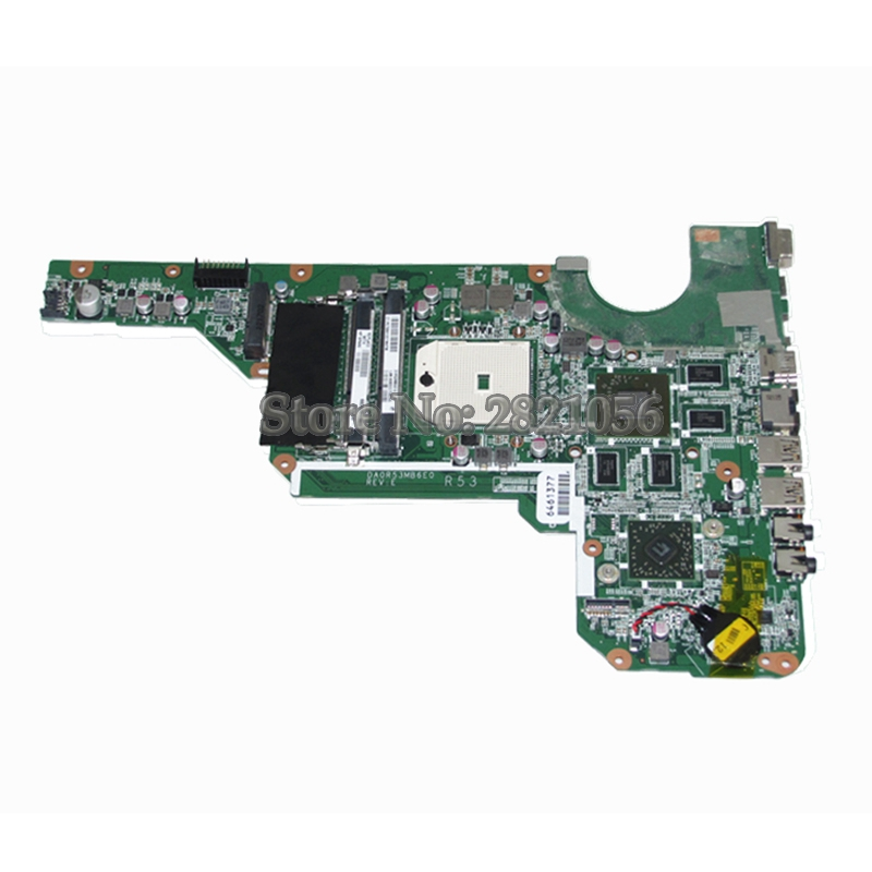 NOKOTION Laptop Motherboard For Hp Pavilion G4 G6 G4-2000 G6-2000 G7Z-2100 683030-001 Main Board DDR3 HD7670M GPU nokotion 645386 001 laptop motherboard for hp dv7 6000 notebook pc system board main board ddr3 socket fs1 with gpu