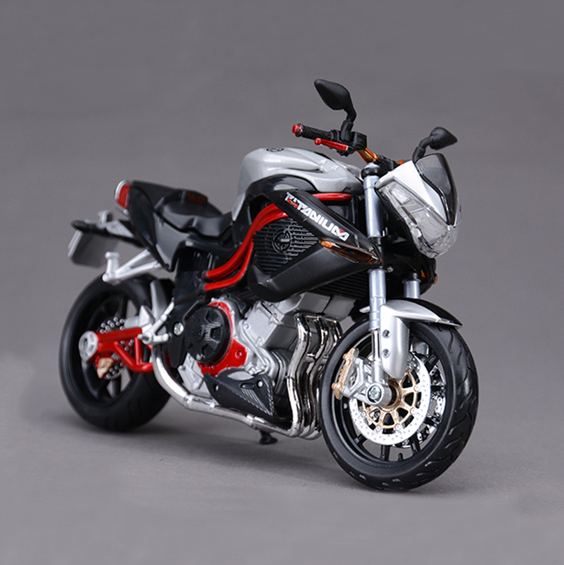 Maisto Benelli TNT R160 Silver motorcycle model 1 12 scale metal diecast models motor bike miniature