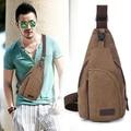 2015 Summer Men's Small Canvas Sling Messenger Shoulder Bag Chest Pack  Fashion Bag