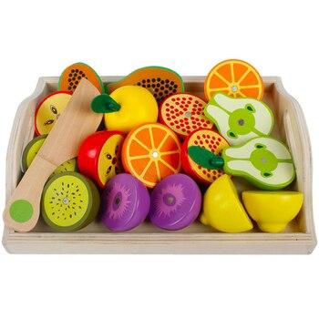 Magnético Combinación Verduras Madera De Frutas Juguete Y Los qzMUpLSjVG