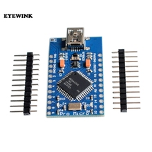 10 Uds Mini USB ATmega32U4 Pro Micro 5V 16MHz Junta módulo ATMega 32U4 controlador Pro Micro reemplazar Pro Mini