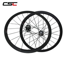 700C Cycling Carbon Track Wheels 38/50/60/88mm Tubular Clincher Fixed Gear Wheelset With Fixed Gear Hub