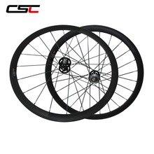 Ruedas de pista de carbono para ciclismo, 700C, 38/50/60/88mm, equipo fijo de cubierta Tubular, juego de ruedas con cubo de engranaje fijo