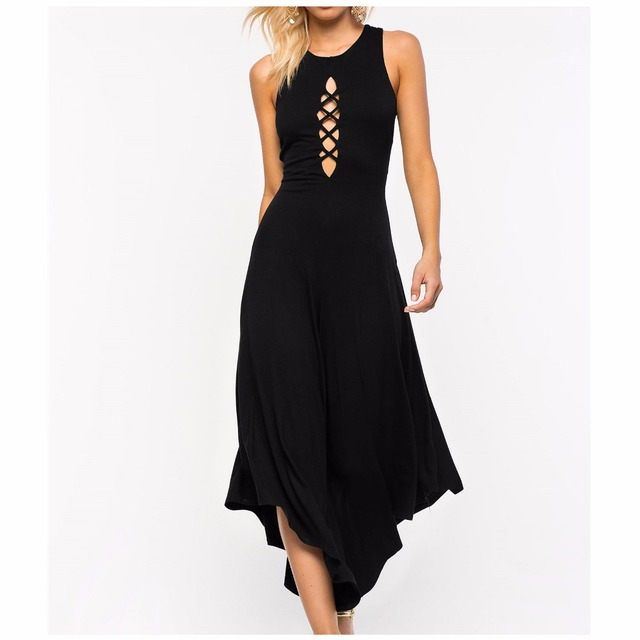 d611659a9 sexy women backless jumpsuit bodysuit lace up tie front stretch bodycon  elegant rompers women jumpsuit