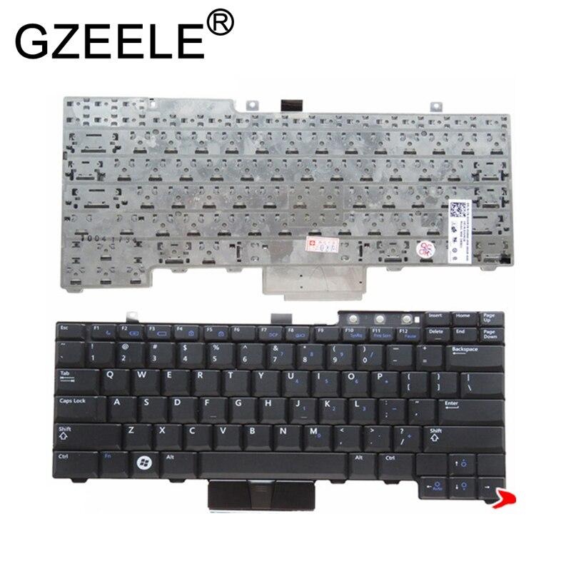 GZEELE tastiera DEGLI STATI UNITI per Dell Latitude E6400 E6410 E5500 E5510 E6500 E6510 per la Precisione M2400 M4400 No retroilluminazione