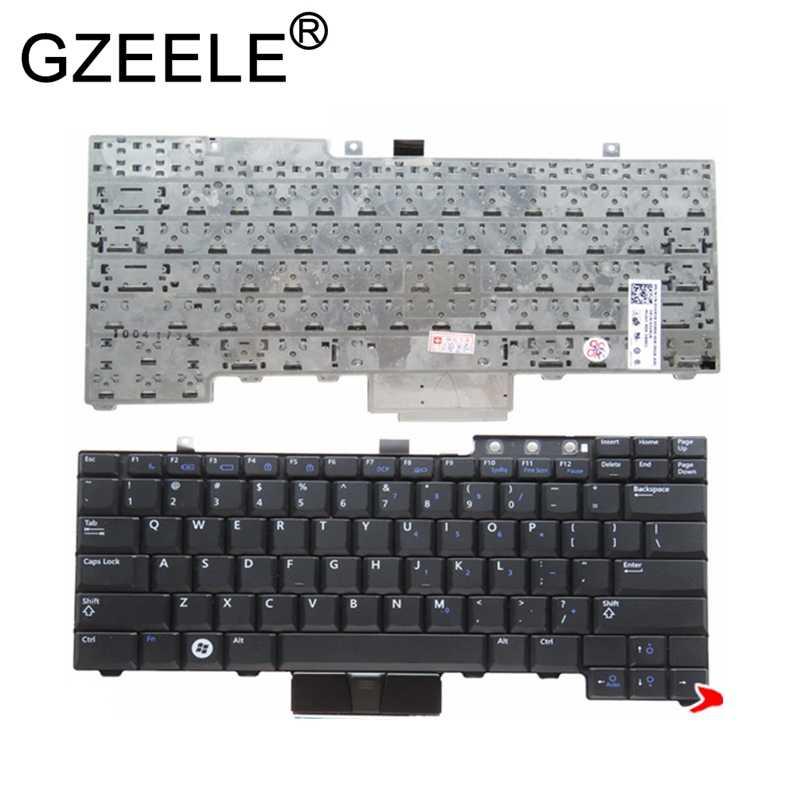 Gzeele us キーボード dell の緯度 E6400 E6410 E5500 E5510 E6500 E6510 精密 M2400 M4400 なしバックライト