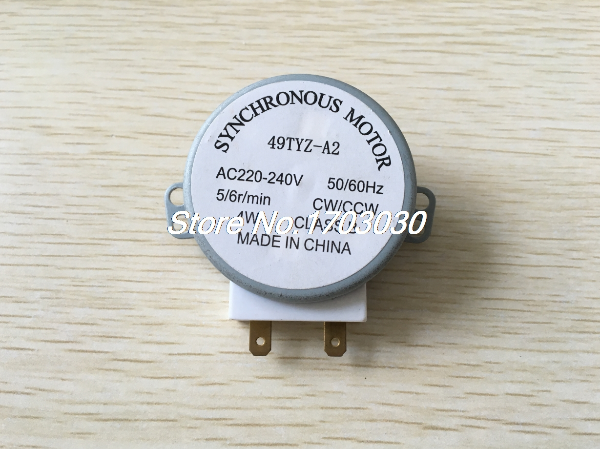49TYZ-A2 AC 220-240V 4RPM Synchronous Motor for Microwave Oven49TYZ-A2 AC 220-240V 4RPM Synchronous Motor for Microwave Oven