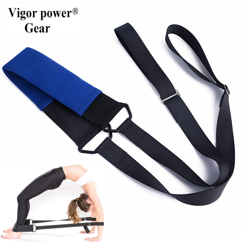 VigorPowerGear flexistretcher Yoga straps Ballet bands, Dance ropes, Gymnastics, Cheer, Yoga, Pilates, Drill, Physical Therapy cheer