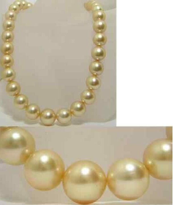 Women Gift word Love  hot 11-12mm AAA+ Genuine south sea genuine gold pearl necklace  a(5.18)Women Gift word Love  hot 11-12mm AAA+ Genuine south sea genuine gold pearl necklace  a(5.18)