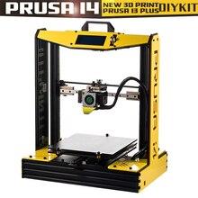 Высокая точность размера плюс Prusa i4 3d принтер комплект с 2 рулонов нити+ SD карта в подарок