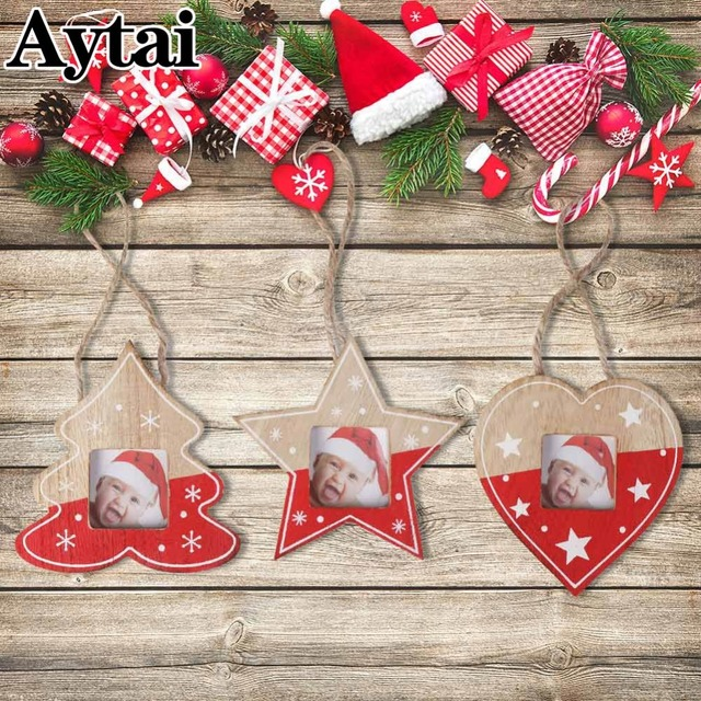 Aytai Christmas Photo Frames Wall Art Hanging Picture Photo Frame