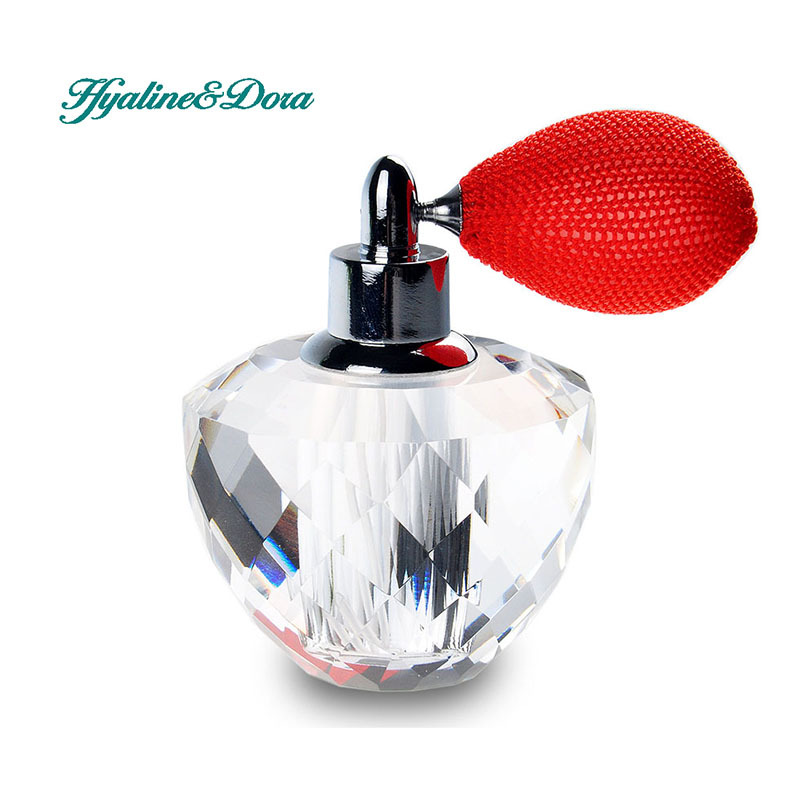 New Arrival 10ml Travel Spray Empty Perfume Atomizer Containers Crystal Sample Bottle Perfume Best Gift Refillable Bottles blue 110ml crystal glass empty refillable woman perfume bottle atomizer long bulb spray scented fragrance containers bottle