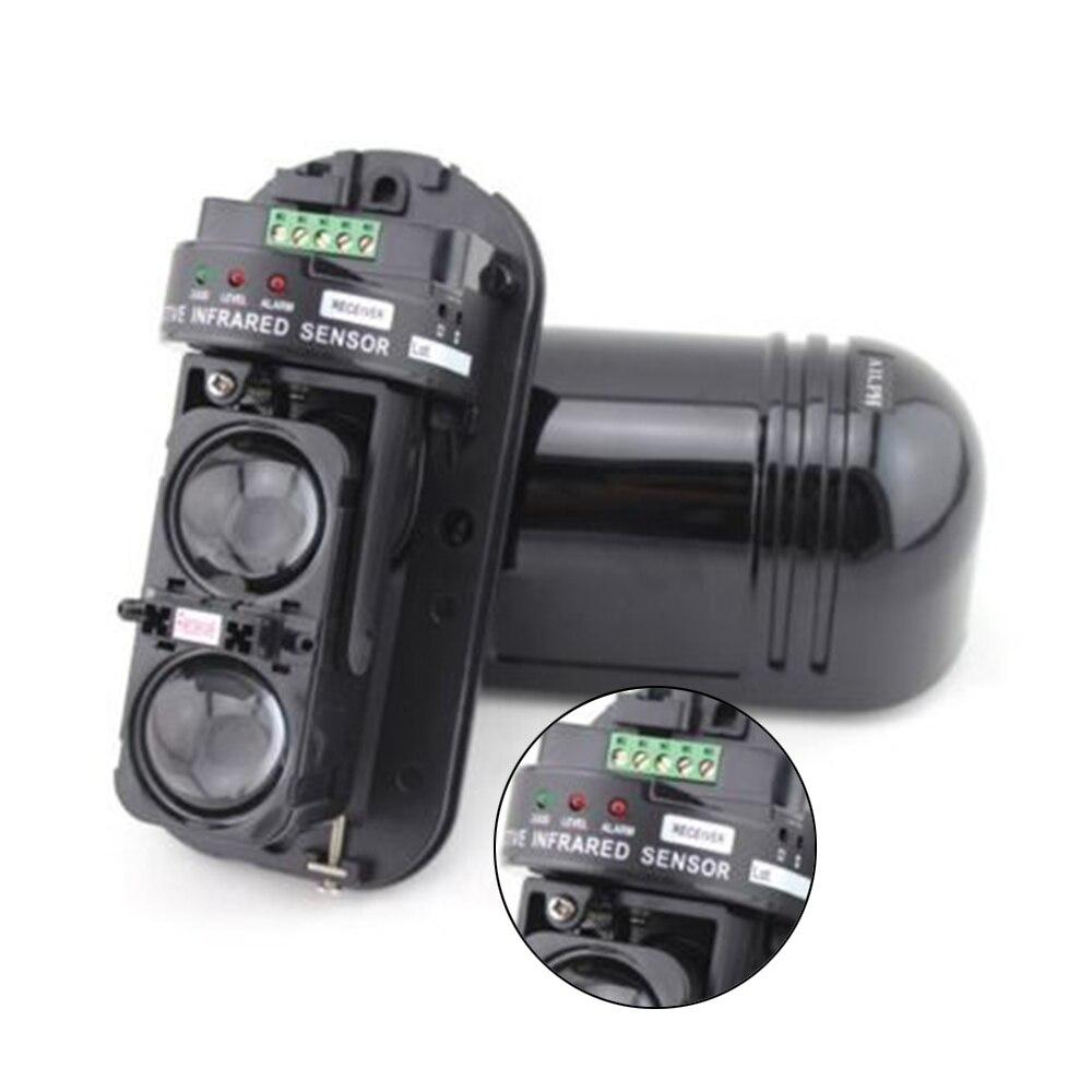 1Pair 100m Dual Beam IR Infrared Detector Module Burglar Alarm Home Security