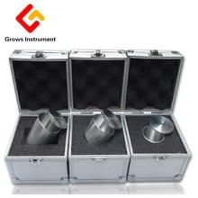 משקל סגולי צפיפות סגסוגת אלומיניום ציפוי כוס כוס משקל סגולי Determiner צפיפות Pycnometer באיכות גבוהה