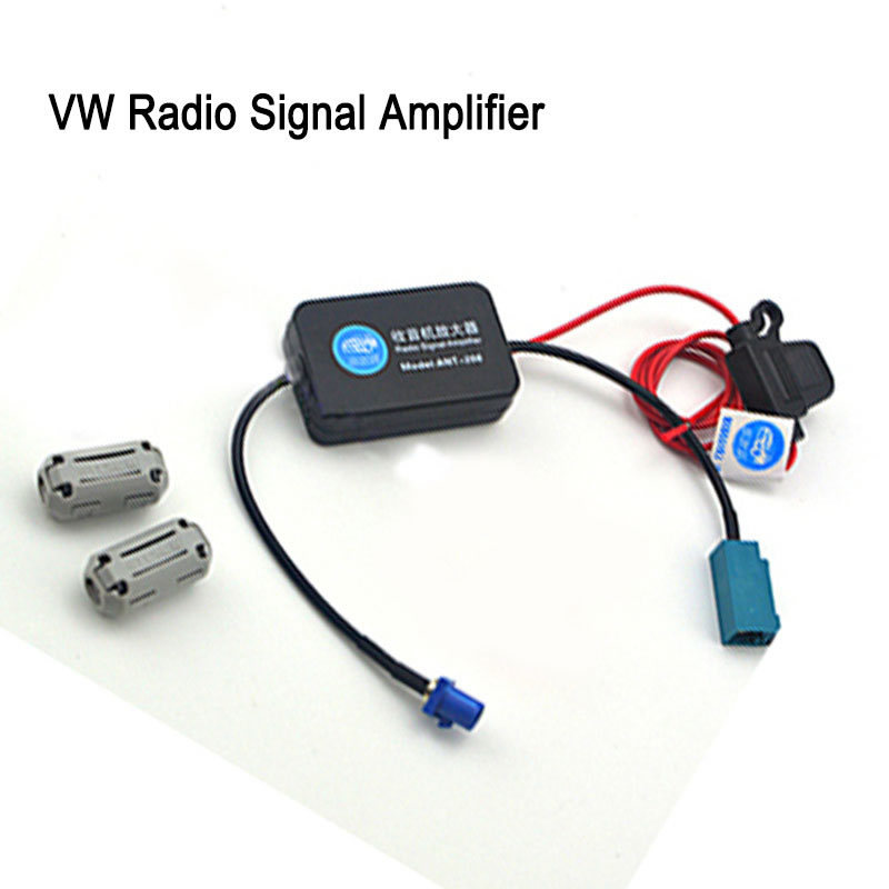 Vw radio signal fm amplifier auto antenna booster 88 for Antenne radio fm interieur