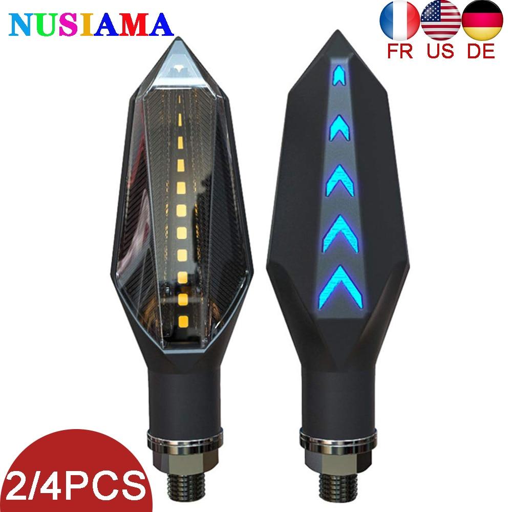 12V Led Motorcycle Turn Signal Brake Lamp Indicator Light Flasher Blinker For Kawasaki Z1000 Z900 Z800 Ninja 400 650 250r Z400