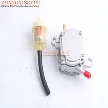 Vacuum Fuel Pump Vallve Petcock Switch Outlet for GY6 50 150cc Scooter Moped ATV CF150cc CF250