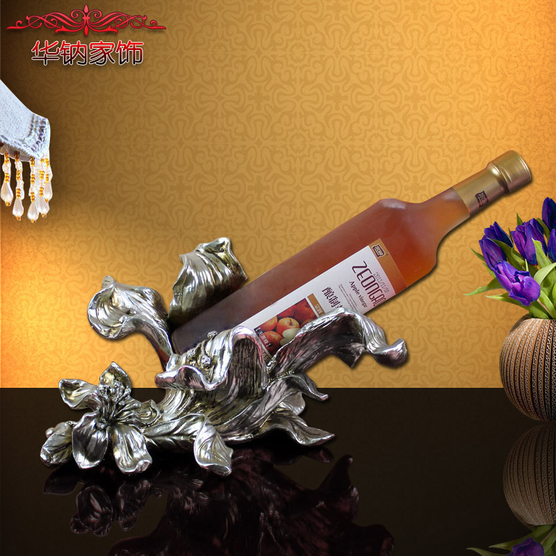 2016 Sale The Gift Of Home Decoration Accessories Wine Rack Furnishing Jewelry Hotel Ktv Resin Crafts New Year