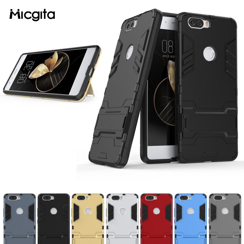 Armor <font><b>Case</b></font> For ZTE <font><b>Nubia</b></font> <font><b>Z17</b></font> <font><b>Mini</b></font> Z17S <font><b>Nubia</b></font> <font><b>Z17</b></font> <font><b>MiniS</b></font> Back Cover TPU PC Silicone For <font><b>Nubia</b></font> Z 17 S <font><b>Case</b></font> Shockproof Protective image