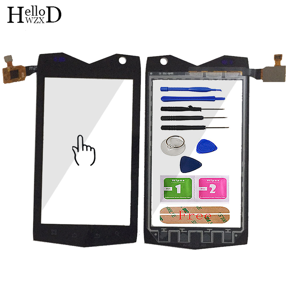 4.0'' Mobile Phone Touch Glass For Texet TM-4082R TM-4104R X-driver Touch Screen Glass Digitizer Panel Sensor Tools Adhesive