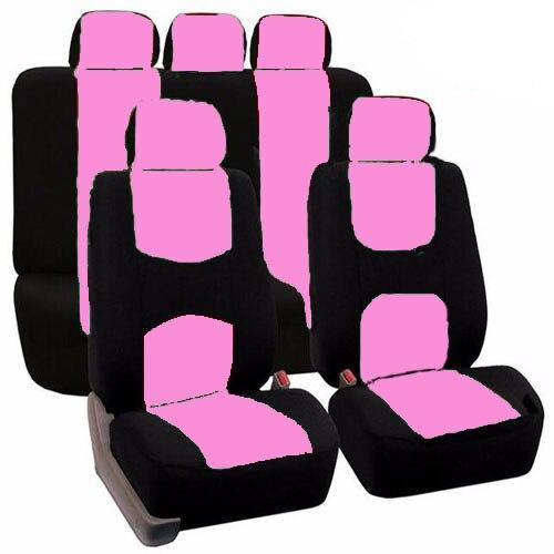 Alta calidad coche Fundas de asientos universal fit poliéster 3mm composite esponja car styling Lada coche casos cubierta de asiento Accesorios