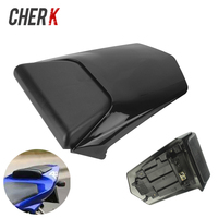 Cherk Motorcycle Black Plastic Passenger Rear Seat Cover Cowl For Yamaha YZF R1 2000 2001 YZF R1 YZFR1 00 01 Motorcycle Parts