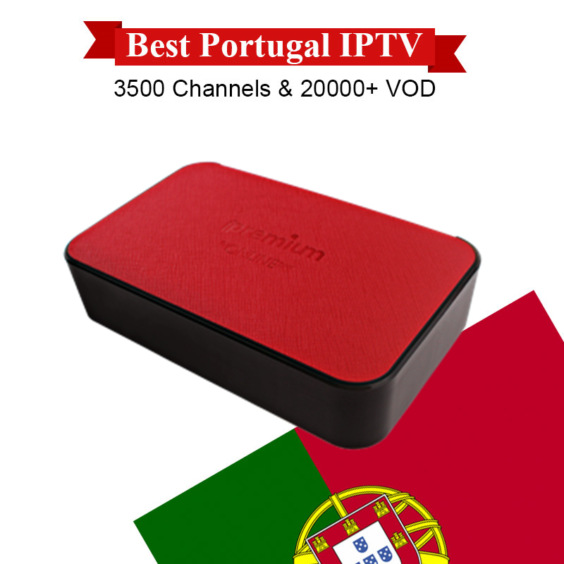 Ipremium AVOV TVOnline Smart TV Box With 1 Year Super IPTV Portugal Portuguese IPTV free Support XXX Vod Channels Set Top Box