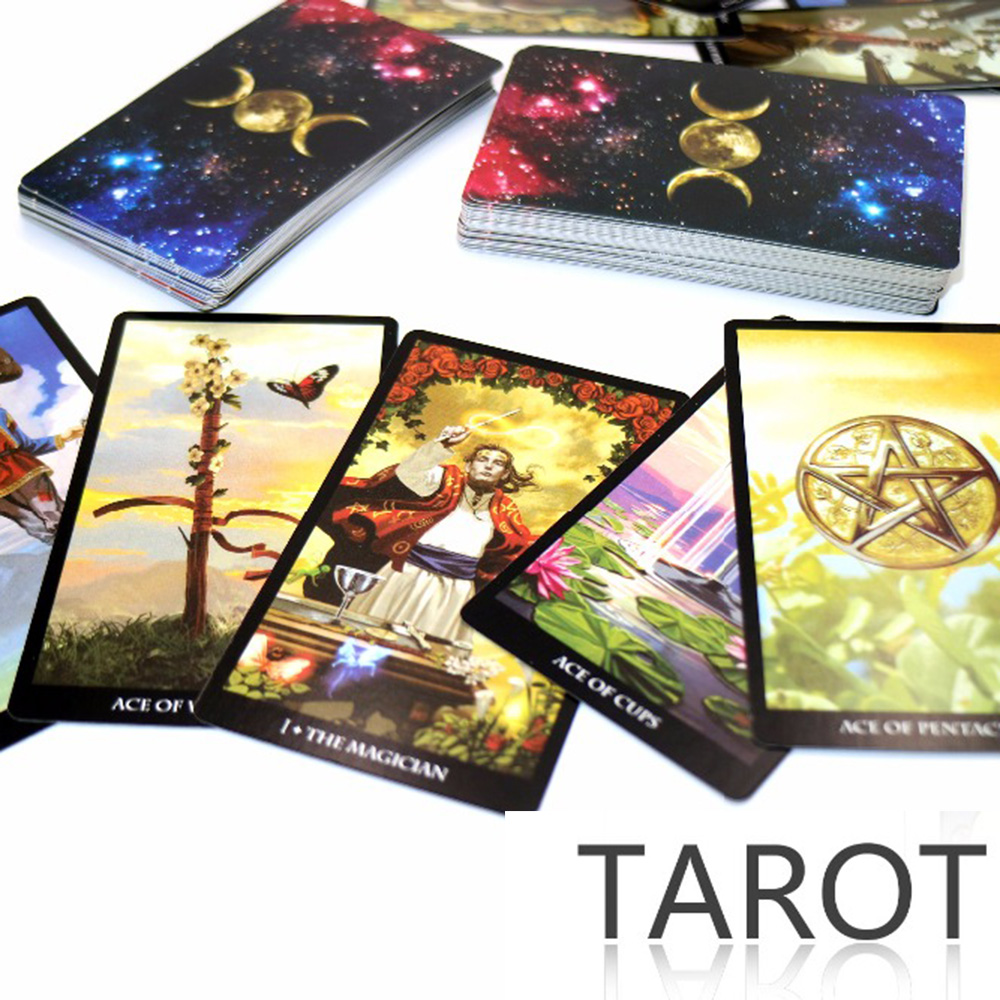 Mystic Tarot Deck 78 Cards - Read Your Fate, Dreams, Future Tarot Cards