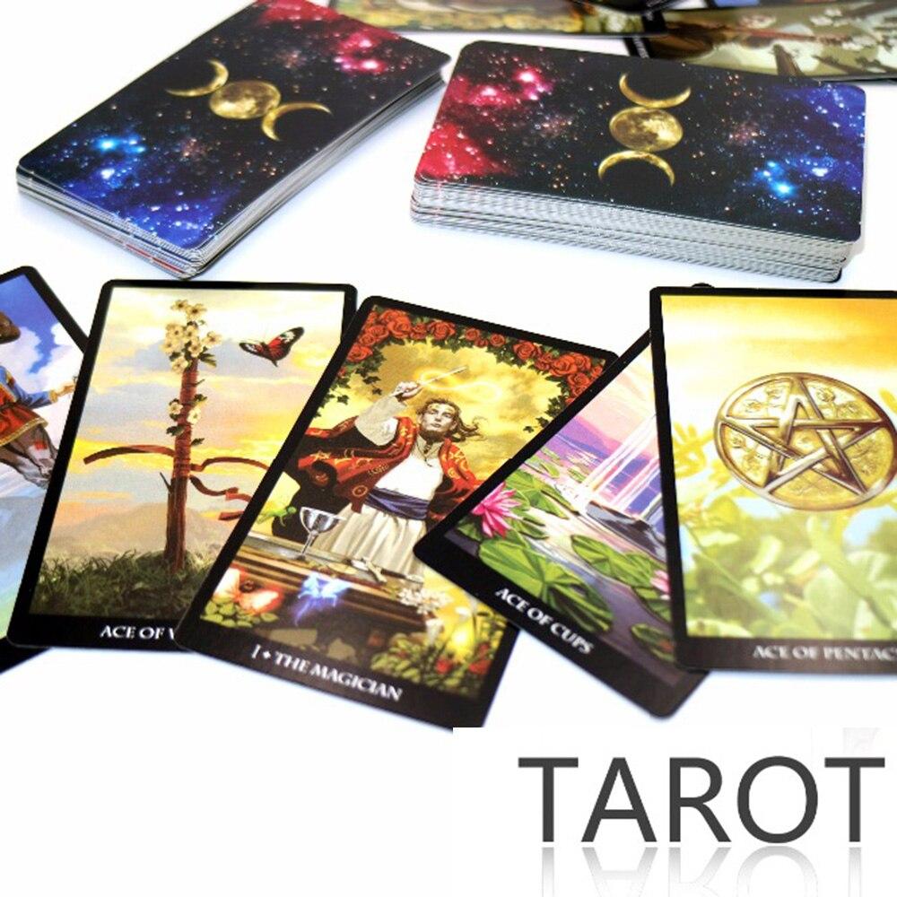 Mystic Tarot deck 78 karten-lesen sie ihre schicksal, träume, zukunft tarot karten