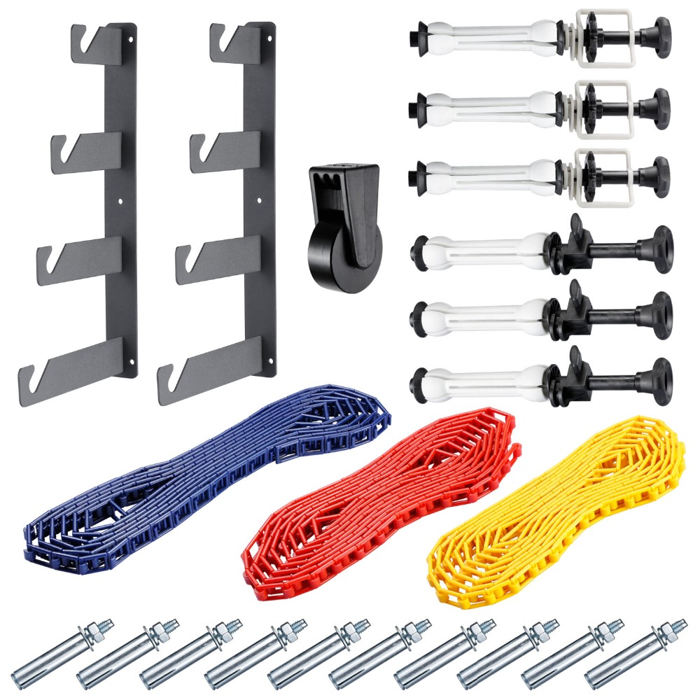 Neewer-Photography-4-Roller-Wall-Mounting-Manual-Background-Support-System-2-Four-fold-hooks-6-Expand