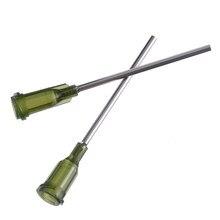 8aba23d1 10pcs Syringe Needle Tip Dispensing Stainless Steel Needles with Luer Lock  14 Ga 1.5inch for Liquid Dispenser Syringe