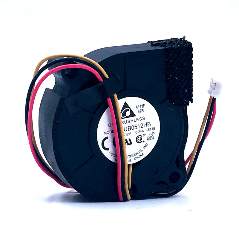 Free Shipping New For Delta BUB0512HB 5CM 5015 Fan Centrifugal Turbine Cooling Fan 12V 0.24A