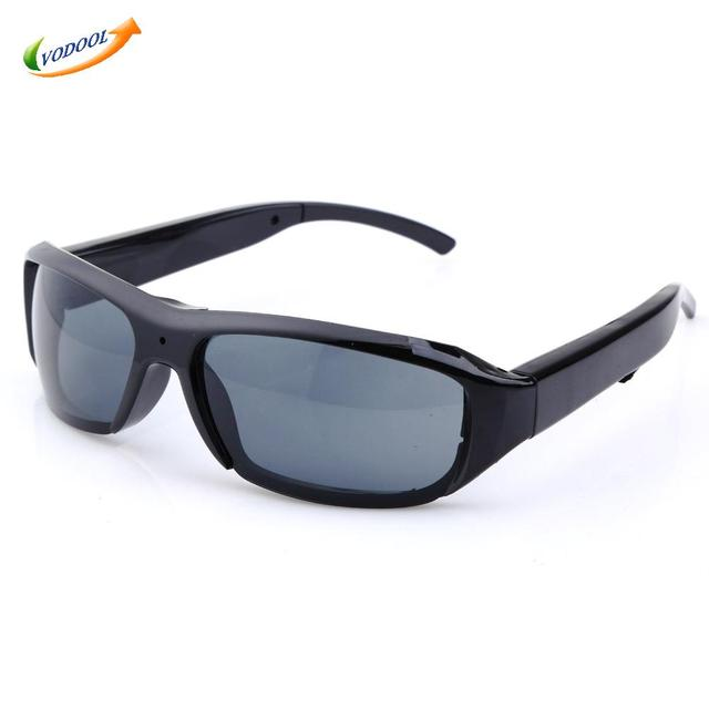 Mini HD 720 P Óculos Óculos de Sol Câmera Filmadora Câmera De Segurança DVR Vídeo Recor Apoio TF Cartão para Esportes Ao Ar Livre câmera